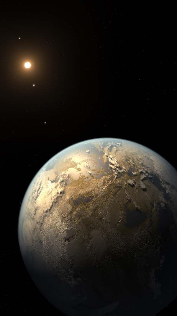 Kepler-186f é um exoplaneta que orbita a anã vermelha Kepler-186.Trata-se do 1º…