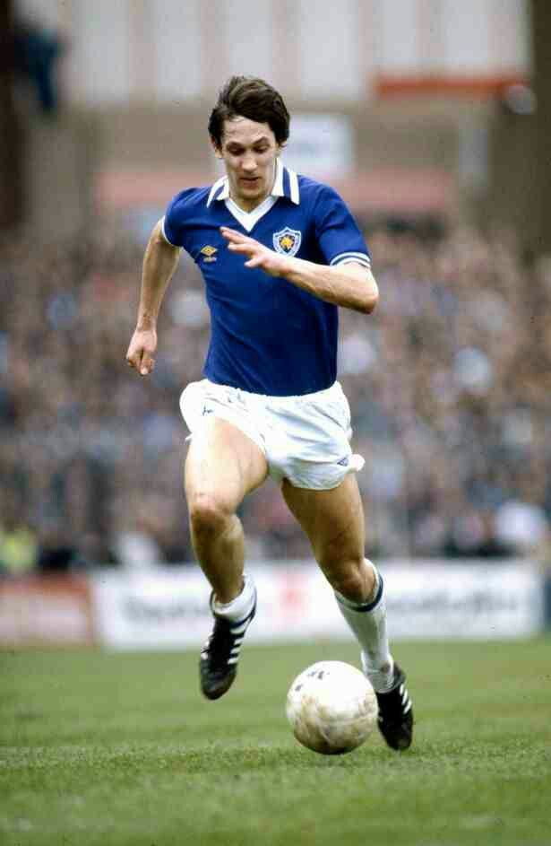 Gary Lineker of Leicester City in 1981.