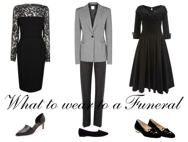 Not the happiest of topics today but an important one. How do you dress for a funeral? Would love to have your input on this. What is appropriate in your culture or country? Click on image to go to the article and give your feedback! | 10plusstyle.com