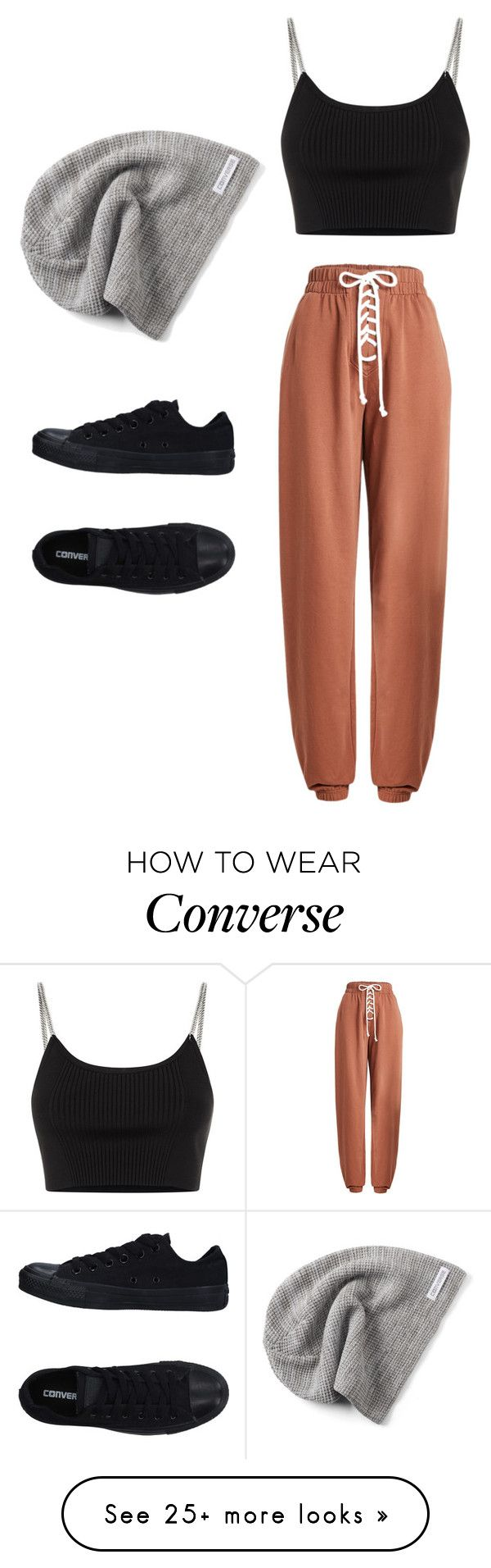 """""""Untitled #724"""" by skittles1324 on Polyvore featuring Puma, Converse and Alexander Wang"""