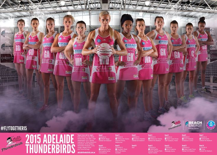 2015 Adelaide thunderbirds