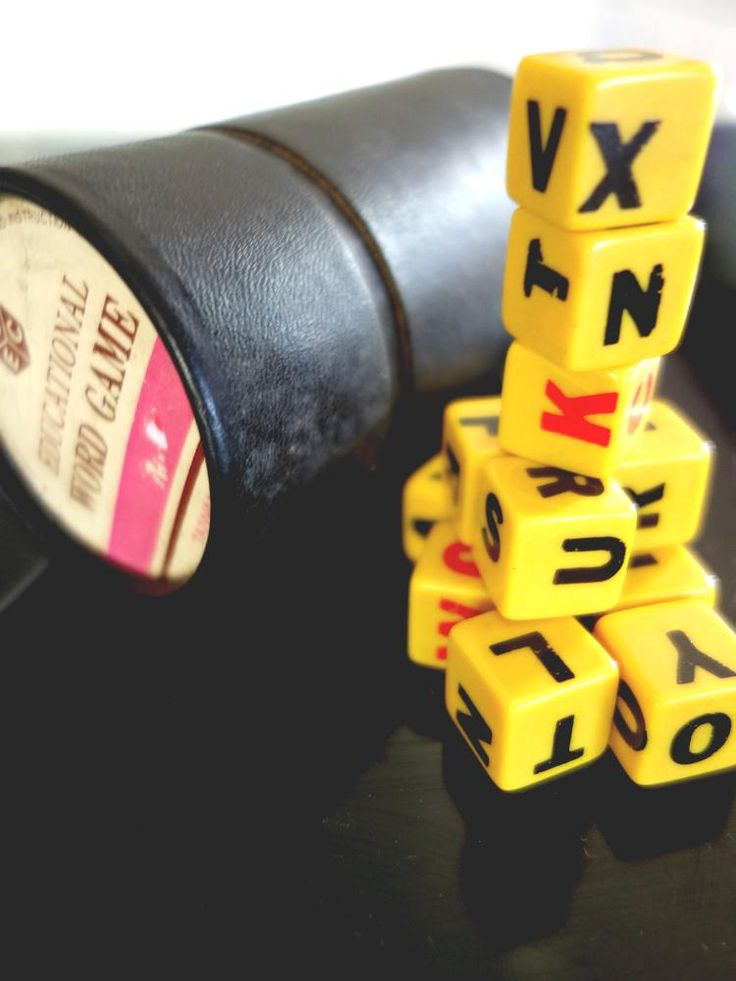 #vintage Retro 60s !  Scrabble Styled Word Dice Game W./box from $21.07