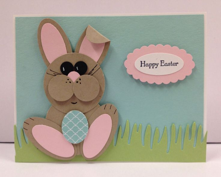 Bunny Punch Art Stampin Up Easter Card Kit (5 cards)