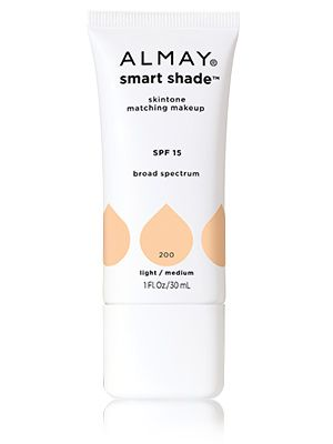 "Almay Smart Shade skintone matching makeup. For a ""no makeup"" look, this moisturizer is perfect. I have never worn a product that matches my skin tone so perfectly--it literally disappears. The cream is moisturizing, but provides light coverage--don't expect to conceal everything. However, it's perfect for on the go if you can only take one product with you! I wear Light/Medium."