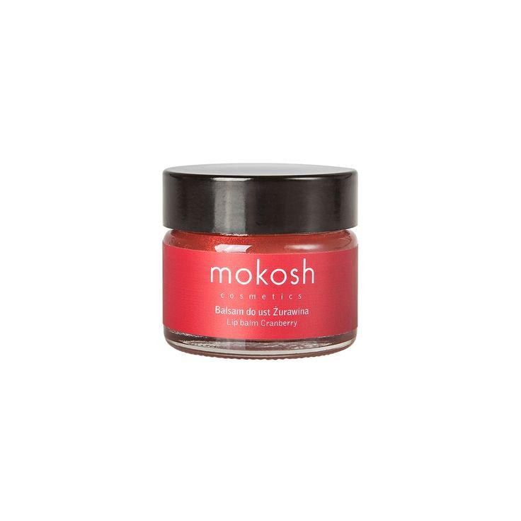 Balsam do ust o apetycznym zapachu żurawiny stworzony na bazie naturalnej, hipoalergicznej lanoliny, oleju z krokosza barwierskiego, masła shea i oleju jojoba.