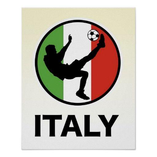 Italy Soccer Print