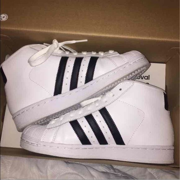 adidas shoes high tops for boys 2017. adidas superstars pro model high top sneakers shoes tops for boys 2017 y