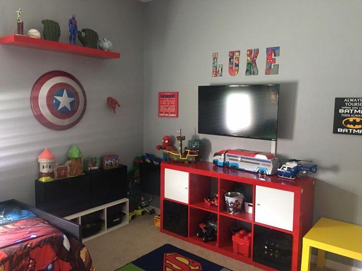 995 Best Images About Kids Super Hero Bedroom Decor On Pinterest