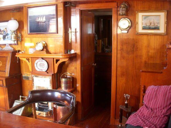 1900 George K. Phillips Chesapeake Ram Schooner Power Boat For Sale -