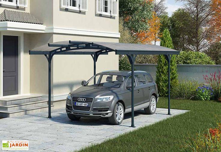 Carport Aluminium et Polycarbonate Hispano (495x287x239cm