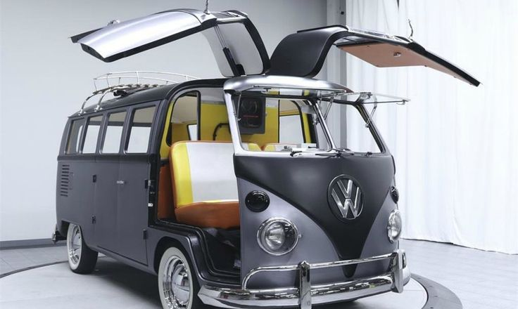 The revamped VW camper pays homage to one of the most beloved films of the 80s.