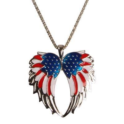 Halskæde med USA flag