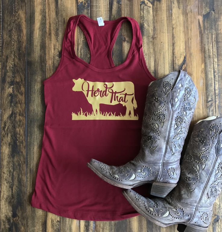 Herd That Shirt, Herd That Tank Top, Women's Country Lifestyle Apparel Music Festival Tank T-Shirt Southern Clothing, Country Sayings Shirt by BackwoodsGypsyCo on Etsy