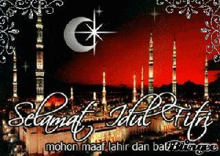 Kumpulan animasi bergerak ucapan selamat Idul Fitri