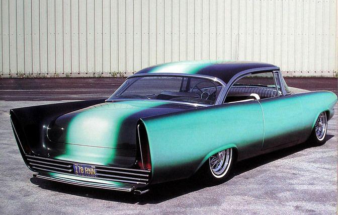 Gene Winfield Customs built this 1956 Mercury in 1960-61