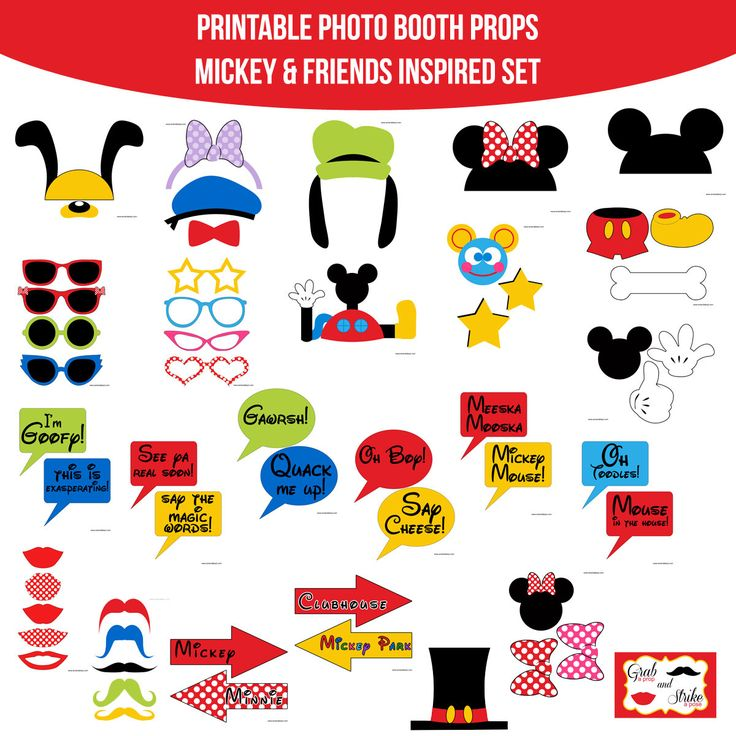 mickey mouse clubhouse free party printables - Roho.4senses.co