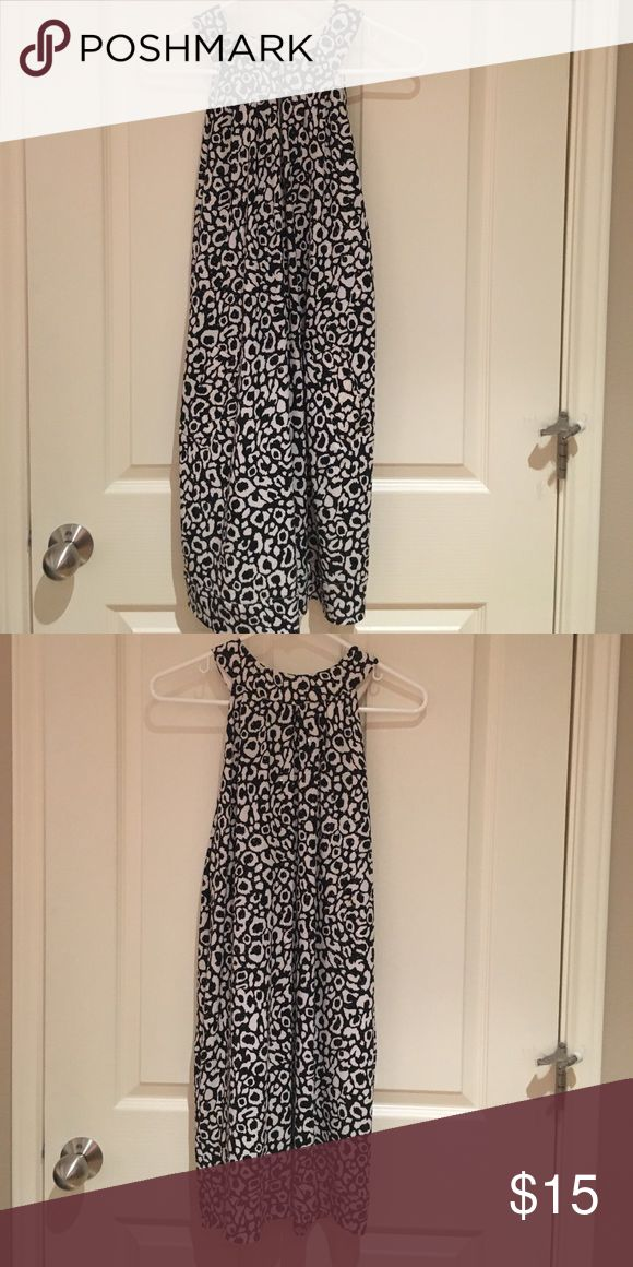 Black and white sequin dress Fun sequin party dress with pockets! mesmerize Dresses Mini