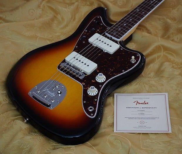 Fender American Vintage 65 Jazzmaster Electric Guitar Reverb Fender American Vintage Sunburst Vintage Style Heels