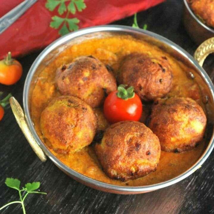 19 best khana khazana from sanjeev kapoor images on pinterest paneer kofta in coconut gravy by neelima katti forumfinder Choice Image