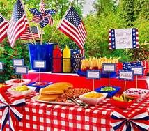 fourth of july party ideas - Bing Images