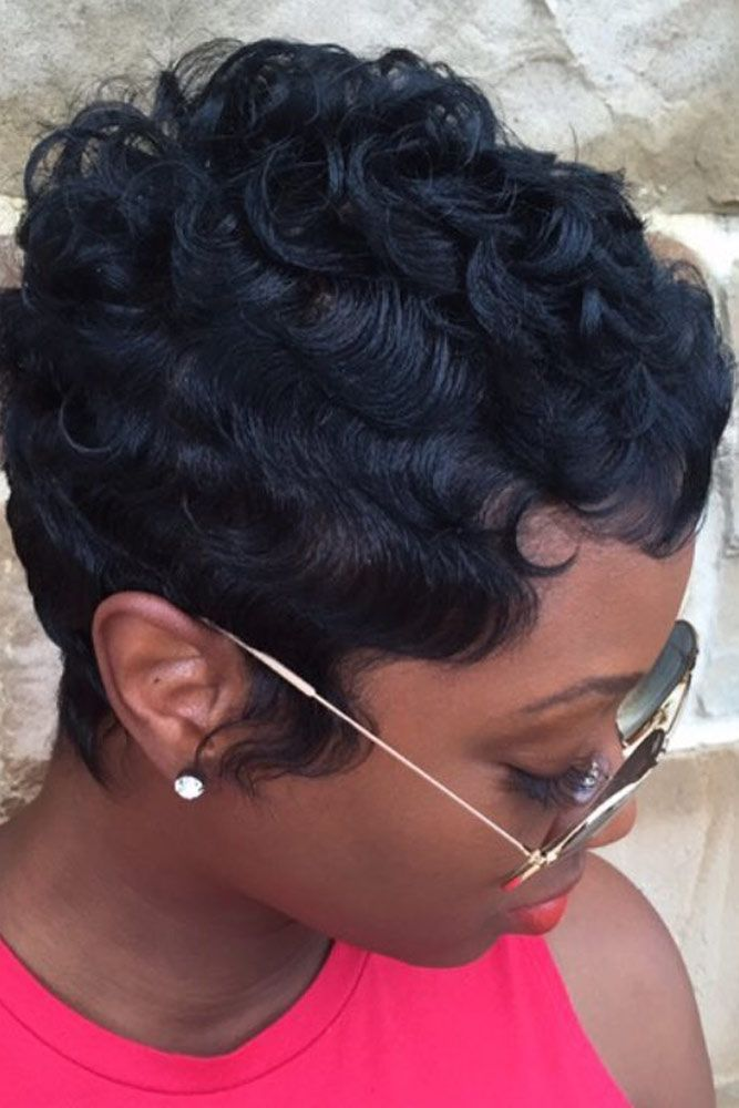 39 Everyday Short Hairstyles for Black Women   - Hairstyles - #Black #Everyday #Hairstyles #Short #Women