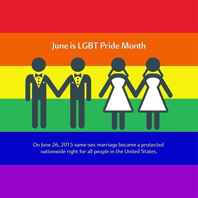 June is officially LGBT Pride Month! We're proud of the incredibly diverse individuals who makeup our global workforce of thousands of talented and dedicated employees. #pridemonth #prideday #marriageequality #gayrights #rainbow #diversity #equality #civilrights