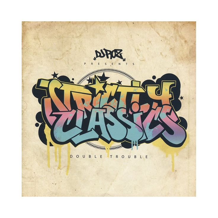"<!--120150601070009-->DJ ROZ - 'Strictly Classics: Double Trouble' [(Black) 7"" Vinyl Single [2x7""]]"
