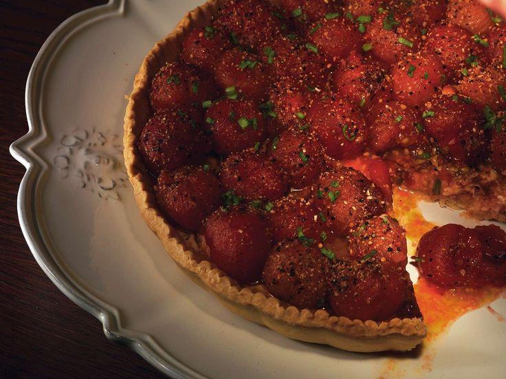 Черри-томато киш рецепт с фото