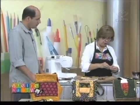 ▶ Patchwork Ana Cosentino: Bolsa Ondas Simples - YouTube