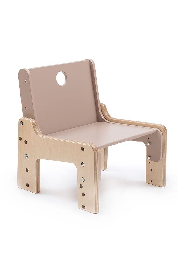 Rostoucí židle mimimo hnědá. #RostouciNabytek #nabytek #deti #zidle #DetskyNabytek #mimimo #detskypokoj