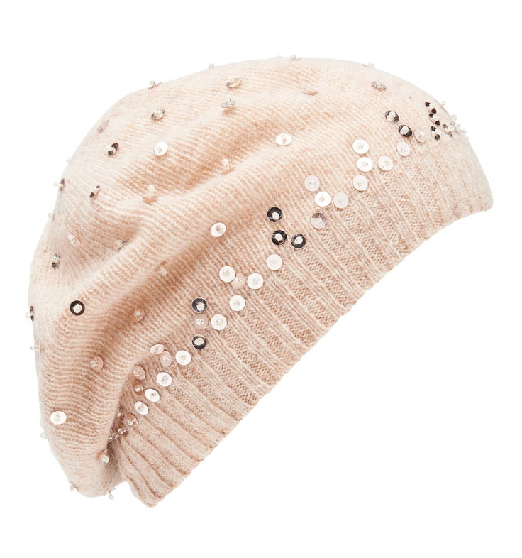 Angelina Sequin Beanie - Forever New