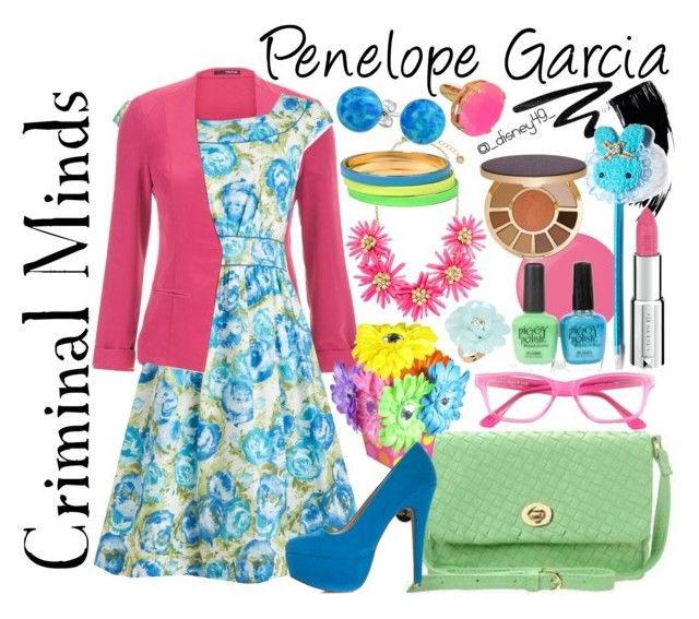 """Criminal Minds: Penelope Garcia"" by disney49 ❤ liked on Polyvore"