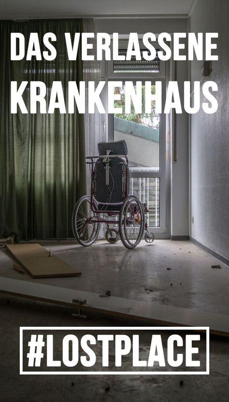 Das verlassene Krankenhaus: Mitten in NRW steht ein Lost Place der besonderen Art: Ein verlassenes Krankenhaus, in dem man auch noch Interieur finden kann. Ein wirklich schöner Lost Place, der aber auch zum gruseln einlädt.