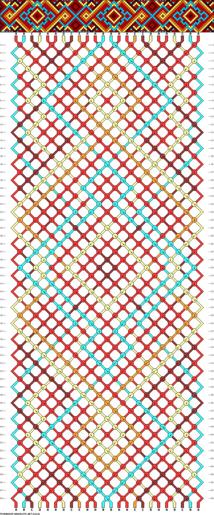 Find This Pin And More On Pattern For Friendship Bracelets Or Cross Stitch  Or Etc