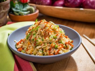 ... Sunny's Nunya Business Chicken Fried Rice Casserole Recipe | Food Network... going to turn into lowcarb