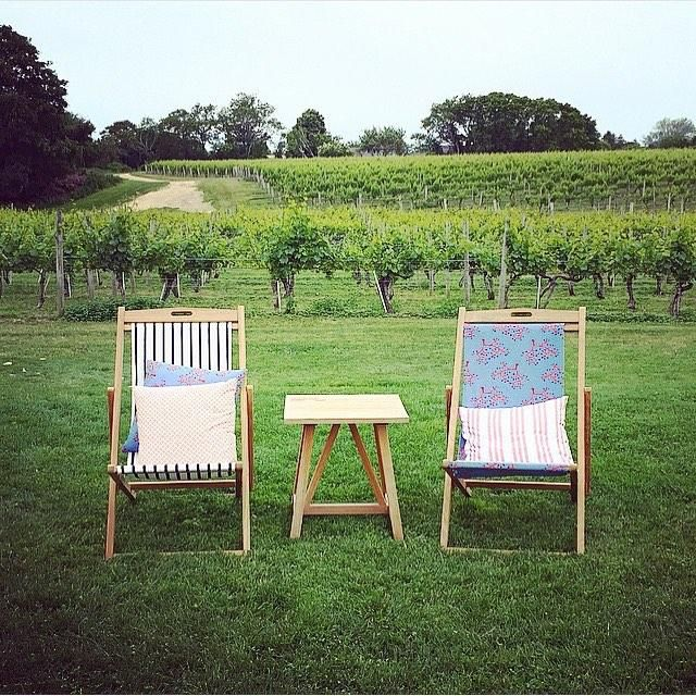 Ready for the weekend at wolfferwine Stop by and pull up a slingchair