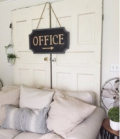 "Vintage Reproduction Office Sign -  This sign can be displayed in the farmhouse or at your office location! We use ours at the PFt offices!Office Sign measures 15"" x 28""Due to recent demand, our Office Sign is a pre-order item. We will accept your payment today and will pre-order a sign on your behalf. Your sign will ship to you in 4-6 weeks."