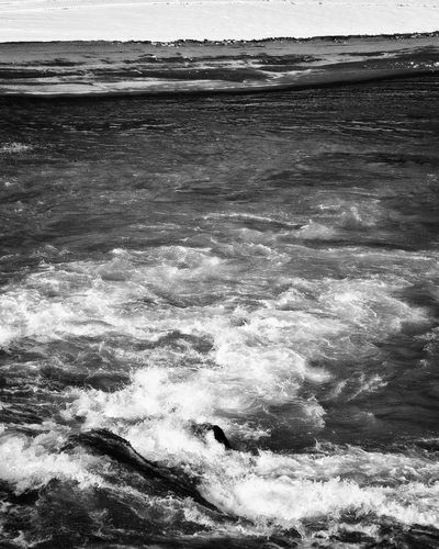 bwstock.photography - photo | free download black and white photos  //  #river #current #water #stream