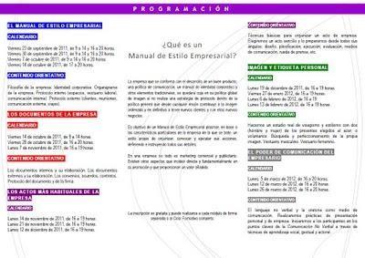 CREA EL MANUAL DE ESTILO DE TU EMPRESA. Ciclo Formativo de Protocolo Empresarial.