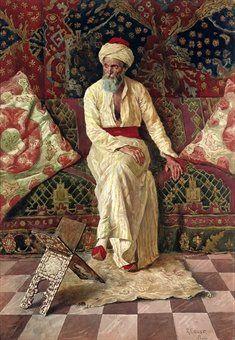Ernst, Rudolph (1854-1932) - A Pensive Elder (Christie's London, 2008)