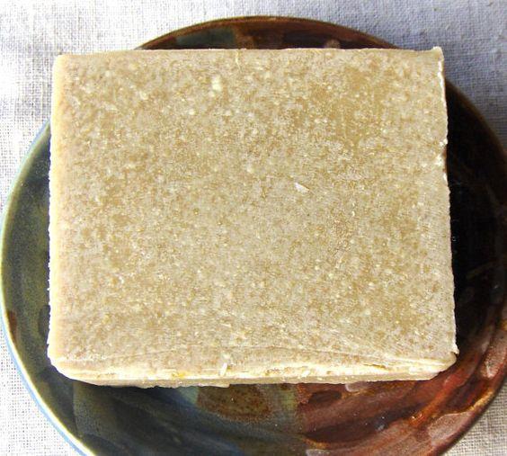 Savon de soufre par Verseau bain - savon végétalien - pas ajouté parfum - soufre