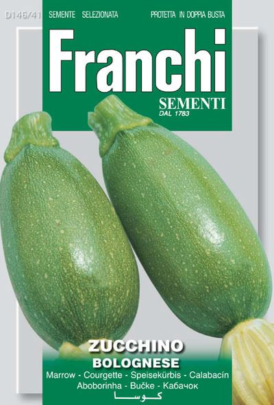 Seeds from Italy - Zucchini Bolognese (146-41), $3.25 (http://www.growitalian.com/zucchini-bolognese-146-41/)