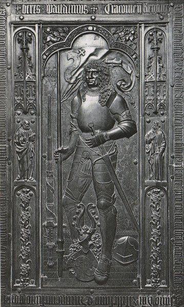 Piotr Kmita w katedrze wawelskiej w Krakowie: