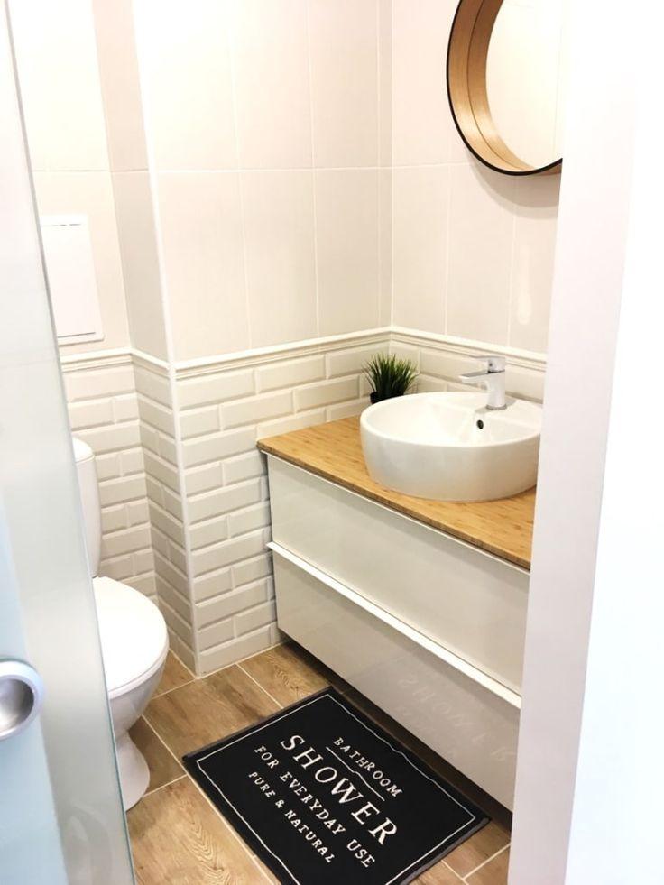 Przeglądaj zdjęcia z kategorii: Łazienka, Malutkie mieszkanie w bloku w Łodzi. Znajdź najlepsze pomysły i inspiracje dla Twojego domu.