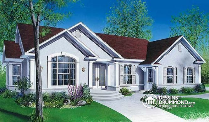 Plan de maison no. W2278 de dessinsdrummond.com