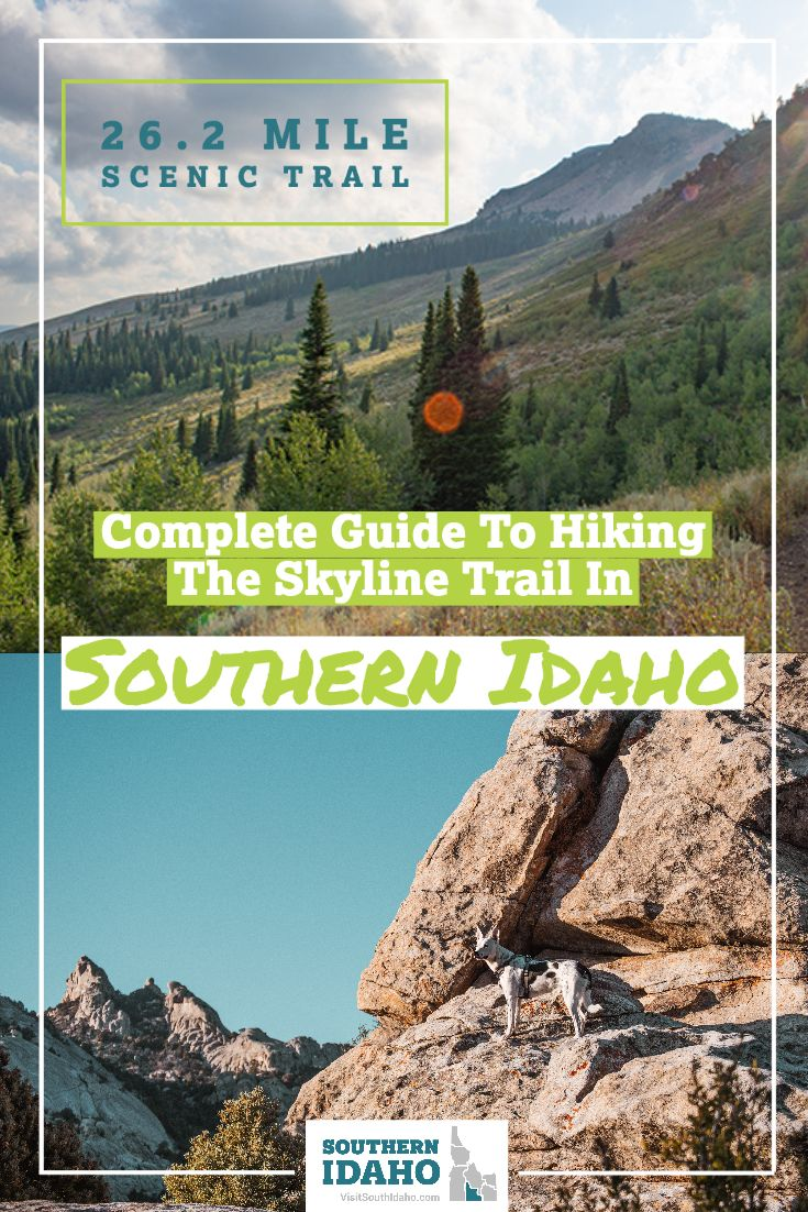 Hiking The Skyline Trail In Southern Idaho 26 2 Mile Scenic Trail Skyline Twin Lakes Scenic