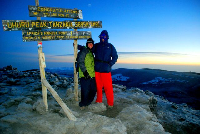 Day 344: The Roof of Africa, the summit of Mt. Kilimanjaro (Tanzania)