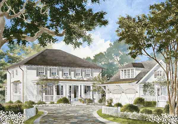 25 best images about house plans waterfront on pinterest for Southern living garage apartment plans
