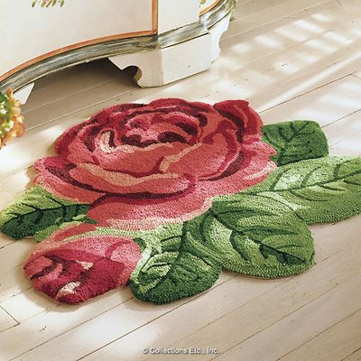 Rose Rug - Collections Ect.