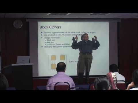 CRYPTANALYSIS OF BLOCK CIPHER - PART 1-Prof  Amr M  Youssef- INSPEM UPM